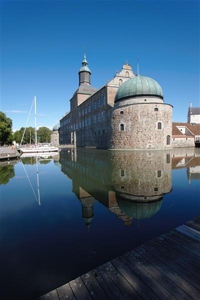 Vadstena Castle, by: Östsvenska Turistrådet. Tags: #culture #svezia #castello #brigida