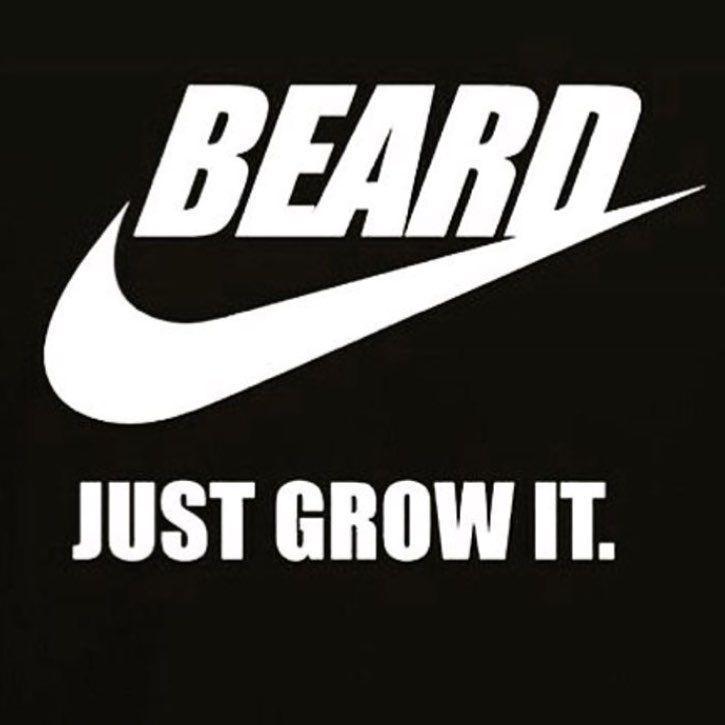 Beard - Just Grow It   Funny Beard Meme   Beard Humor   Bearded Men  