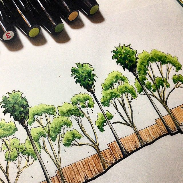 #landarch #landscaping #projects  #landsketch #instagood #sketchy #ARQSKETCH…