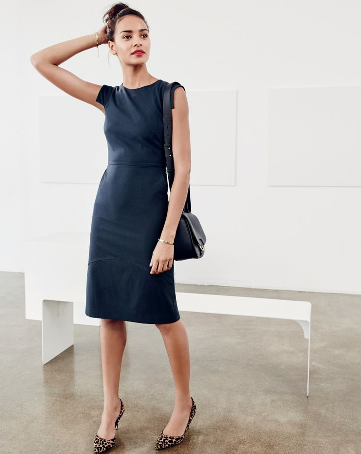 The J.Crew women's résumé dress. Because you'll nail the interview no matter what, but a polished dress doesn't hurt.