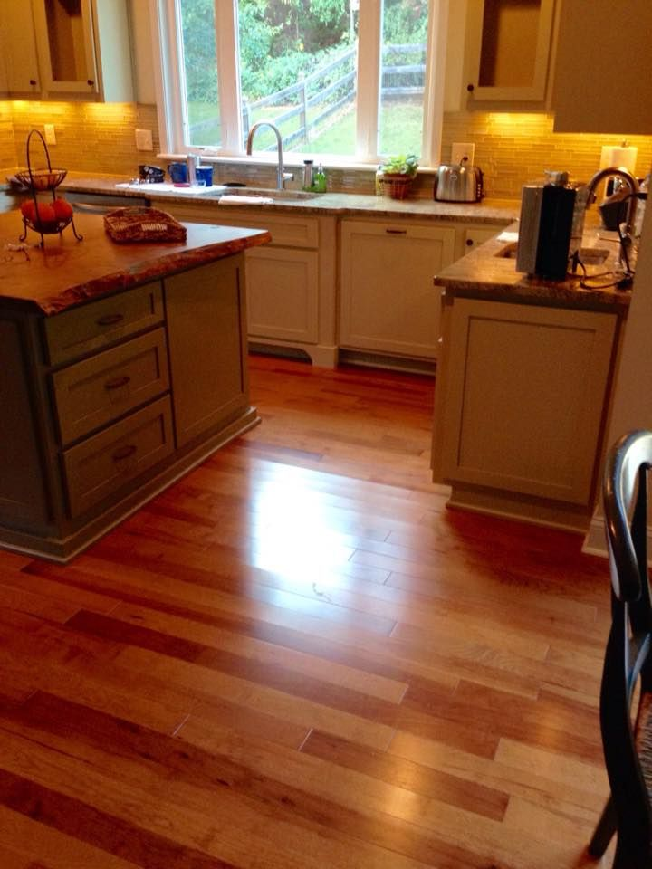 Hickory Flooring By The Elite Floors.