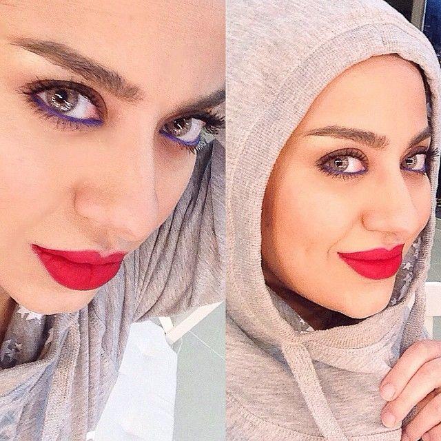 10 9k Likes 735 Comments Hanan Alnajadah حنان النجادة Hananalnajadah On Instagram محاوله لتنسيتكم سالفه البيوتي البلندر امس و Fashion Makeup Hijab
