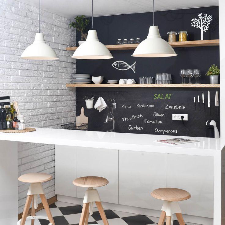 Bildergebnis für küche spritzschutz tafel