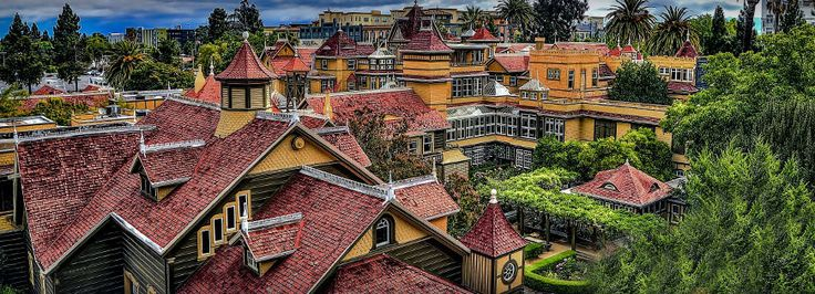 Image result for vintage winchester mystery house photos