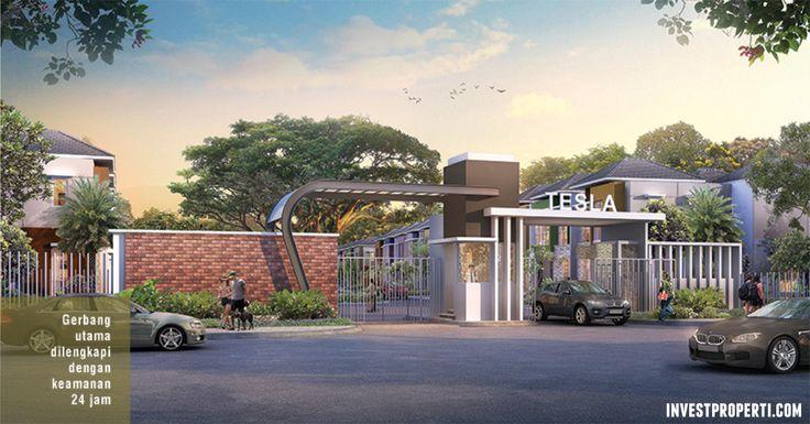 Gate Cluster Tesla Summarecon Serpong #teslasummarecon