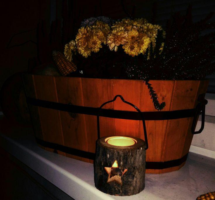 Podzimní truhlík, lucerna