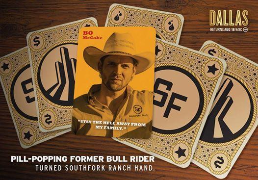 dallas tnt | Dallas Tv Show Bo McCabe | Dallas TNT Poster