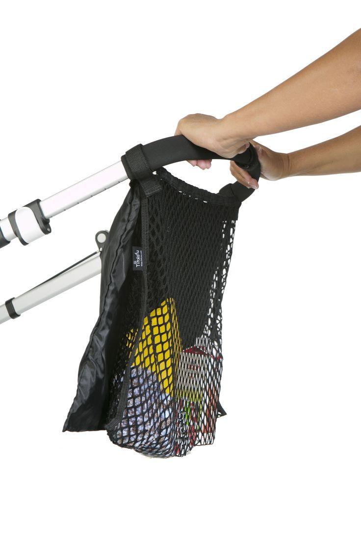 Retro handlenett, dobbelt / Shopping net