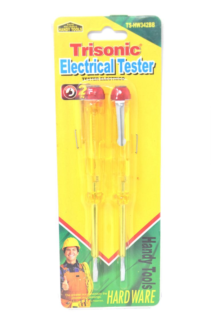 Trisonic Electrical Tester, 2 Pack