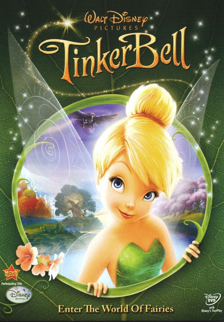 Tinkerbell movie 1...I started believing in magic when I saw this movie. I had a tinkerbell birthday party and everything . You could say I'm a bit obsessed :-) I even have posters in my room