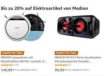 Amazon: Medion-Produkte für einen Tag mit Rabatt www.discountfan.d… Aldi-Lief… – Discountfan