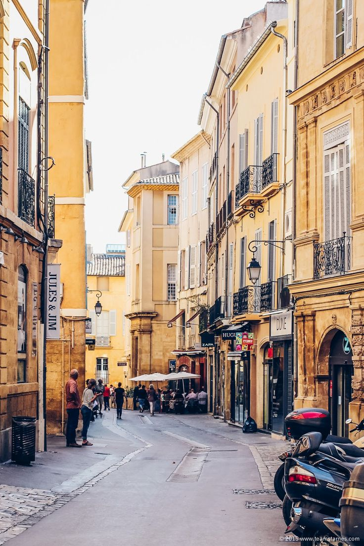 A lunch date in Aix-en-Provence (+ Provence vineyard tours) / TEAM STARNES
