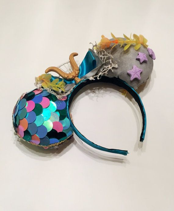 Mermaid Lagoon (Peter Pan and Neverland Inspired) Mouse Ears