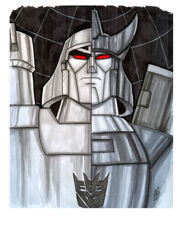 Megatron/Galvatron - Transformers by Chris Butler
