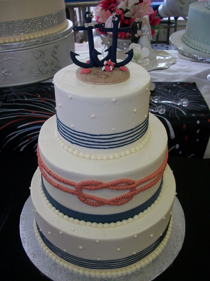 1000 Ideas About Anchor Cakes On Pinterest