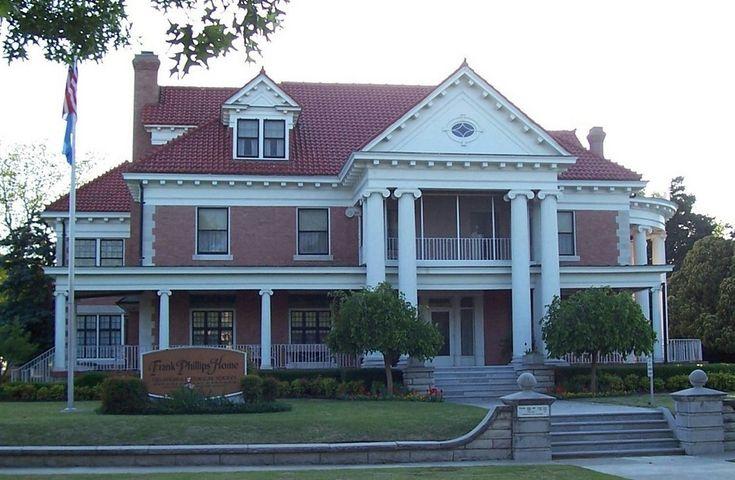 Frank Phillips mansion in Bartlesville, Oklahoma