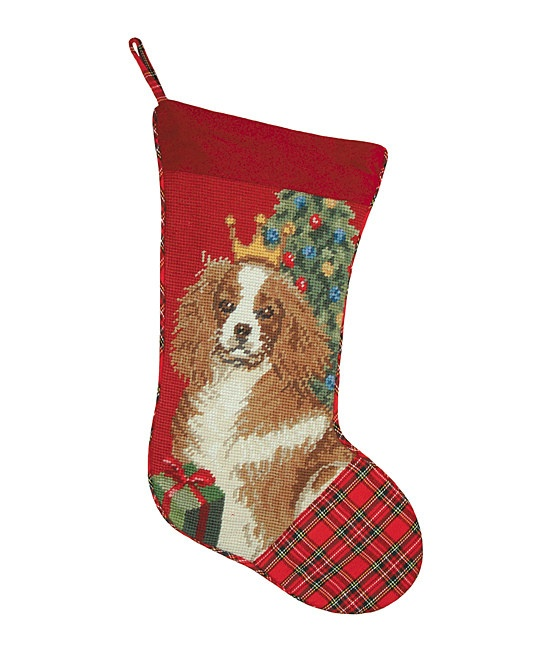 166 best cavalier king charles images on pinterest for Charles craft christmas stockings
