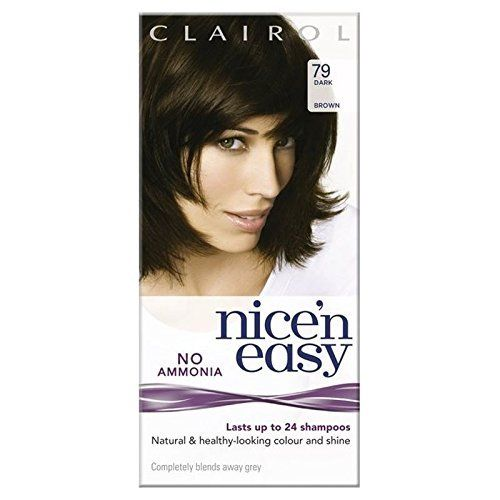 Nice n Easy No Ammonia Hair Dye Dark Brown 79 >>> Details can be found by clicking on the image. (This is an affiliate link and I receive a commission for the sales)