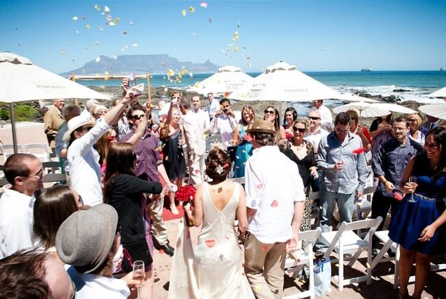 Fab Beach Wedding at On The Rocks - 9 #CapeTown #Beach #Wedding Venues | Confetti Daydreams Shot by @Lauren Kriedemann Photography