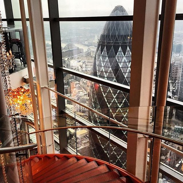 Duck & Waffle, London #escapesnaps Picture: @annieobryan / Instagram
