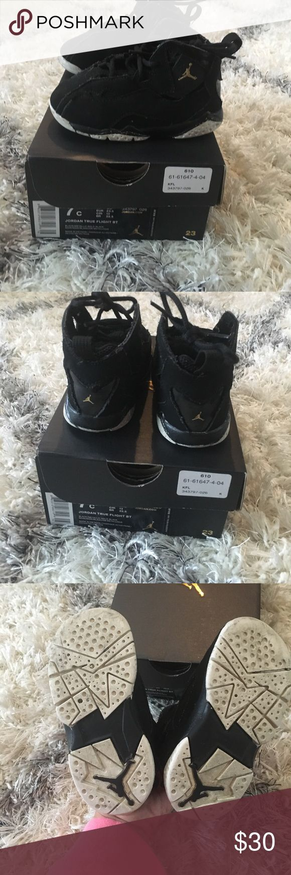 Jordan True Flight Toddler Shoes Jordan True Flight Toddler Shoes - Good Condition! Jordan Shoes