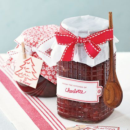 Cranberry Orange Marmalade A lazy simmer transforms just four ingredients into a sweet-tart spread. Spoon the marmalade into glass jars to show off its dazzling color and tie with matching ribbon.