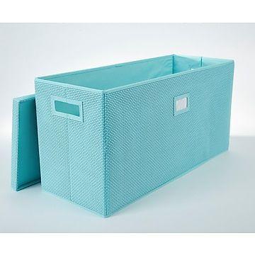Office By Martha Stewart Office Storage System Double Bin, Blue (44639)