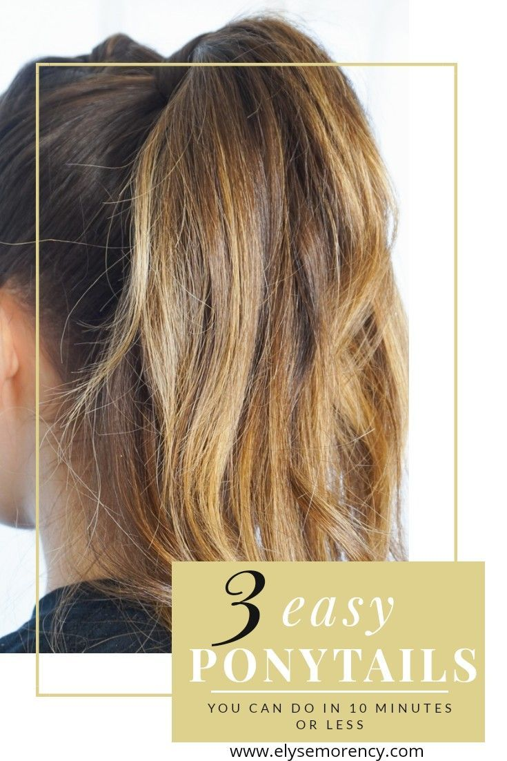 10 Easy Hairstyles Hair Styles Easy Hairstyles Basic Hairstyles