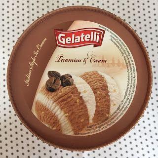 Gelatelli Tiramisu & Cream Ice Cream (LIDL)