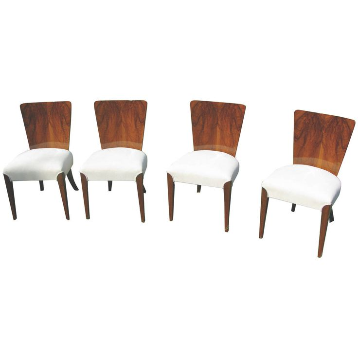 Art Deco Chairs Halabala H 214 | From a unique collection of antique and modern side chairs at https://www.1stdibs.com/furniture/seating/side-chairs/
