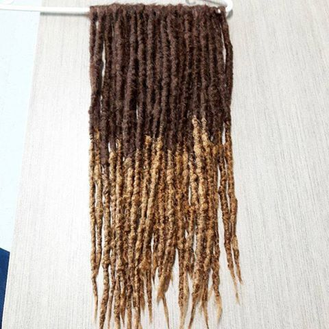 Dreadlocks made by me ! I make custom dreadlocks and you can get a set for yourself here : https://www.facebook.com/WarriorLocks/ :D