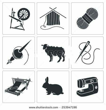84 best fiber arts tools images on pinterest crocheting knitting rh pinterest com Yarn Clip Art Yarn Clip Art