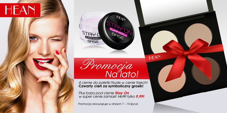promotion Stay On Base and Eyeshadows
