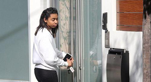 Mel B's Eldest Daughter Arrives Home As Court Grants Family Restraining Order Against Stephen