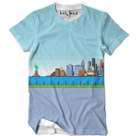 Mens Big City Tee