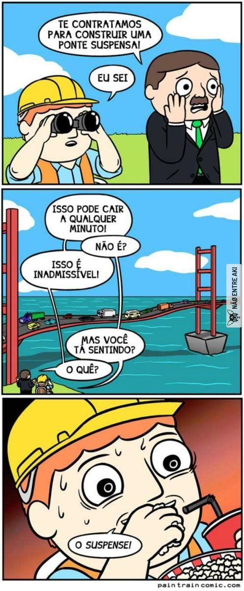 a ponte suspensa