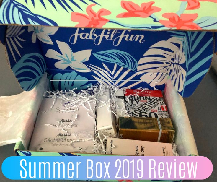 Fab fit fun summer 2019 review summer fun fab fit fun
