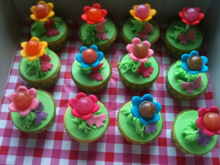 Bloem cupcake