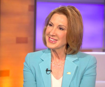 """I sat down with Carly Fiorina just hours after she made her 2016 presidential plans official with an announcement on ABC's """"Good Morning America,"""" to discuss where she stands on some of the most pressing issues and why, exactly, she's running."""