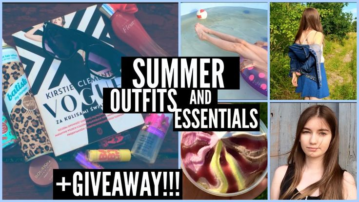 ☼SUMMER OUTFITS, ESSENTIALS & HUGE GIVEAWAY!☼