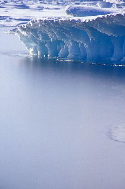 Iceberg, Resolute Bay, Nunavut, Canada | by davebrosha, via Flickr.