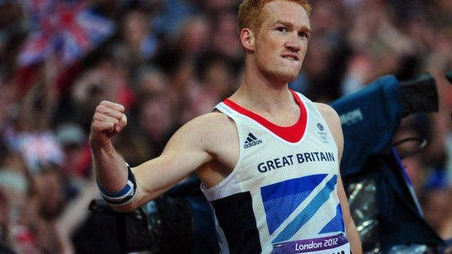 BBC Sport - London 2012 Olympics: Rutherford gets Gold in the long jump