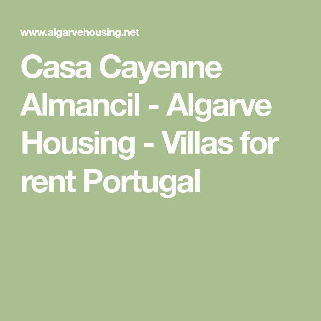 Casa Cayenne Almancil - Algarve Housing - Villas for rent Portugal