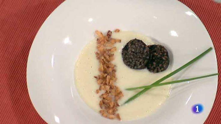 Cocina con Sergio - crema de coliflor