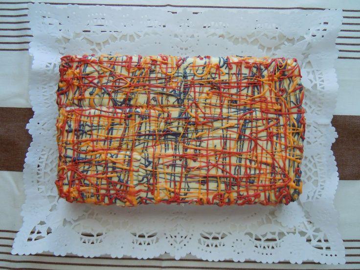 """""""Pal vientre, todo lo que entre"""": Tarta Graffiti de galletas y mermelada de mora (2º..."""
