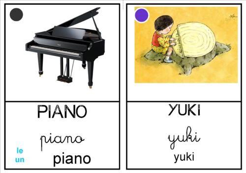 """Imagier """"Le piano des bois"""""""