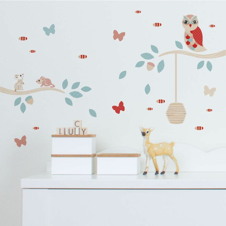 Tinyme wall stickers are the cutest and the bestest way to decorate your little ones bedroom nursery or just about anywhere