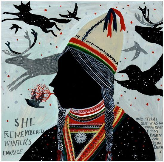 Sami Girl by Diana Sudyka
