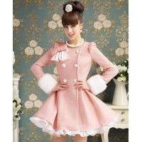 Palton Chic Pink