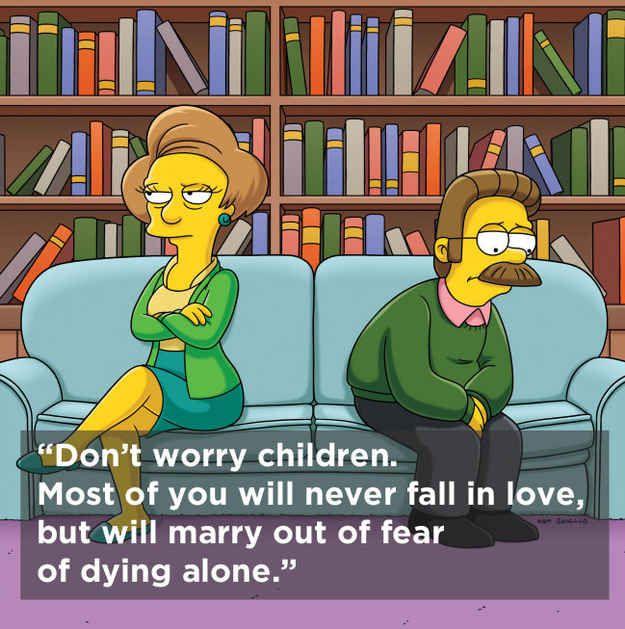 Homer Simpson Wedding Quotes: 1000+ Ideas About Edna Krabappel On Pinterest